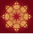 lace gold ornament vector image vector image