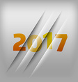 Numbers Background 2017 vector image vector image