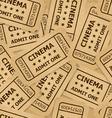 ticket cinema icon 02 03 vector image vector image