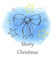 Christmas and new year hand drawn icon vector image
