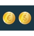 money symbol currency vector image