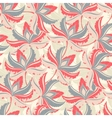 Seamless Summer Palm Pattern vector image