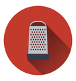 Kitchen grater icon vector image