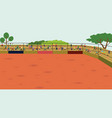 arena rodeo background vector image