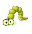 larva character vector image