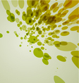 abstract splat background vector image vector image
