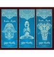 Yoga banner vector image