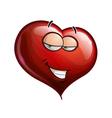 Heart Faces Hey Sweetie vector image