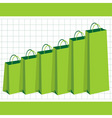 gaining purchasing power vector image vector image