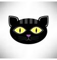 Head Cat Icon vector image