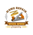 Home repair tool symbol with instrument vector image