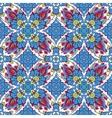 mosaic background ceramic tiles majolica vector image