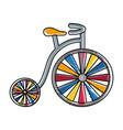 monocycle icon image vector image