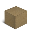 Realistic Cardboard Box Isolated On White vector image