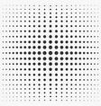 the monochrome gradient comic style vector image