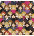 business women pattern vector image vector image