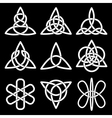 Collection of Celtic knots vector image