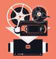 Film Movie Icons vector image