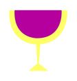 A glass vector image vector image