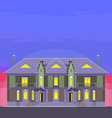 02 Classical Mansion V vector image
