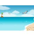 Ocean vector image vector image