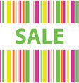 sale color background vector image vector image
