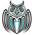 Haida owl vector image