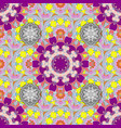 seamless floral pattern in flowers on neutral vector image