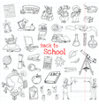 Back to School Doodles - Hand-Drawn vector image