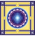 Shri Yantra vector image