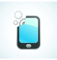 phone features vector image vector image