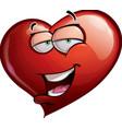 Heart Faces Hi vector image