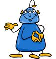 fantasy character cartoon vector image