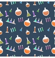 Seamless lab pattern in vector image