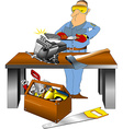 super toolbox vector image