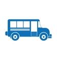 vintage bus icon image vector image