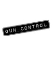 Gun Control rubber stamp vector image