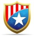 american badge vector image vector image
