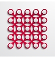 modern abstract element design vector image vector image