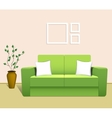 Sofa in the Interior vector image