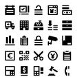 Shopping and Retail Icons 3 vector image