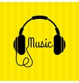 music icon design vector image
