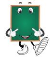 a green board vector image vector image