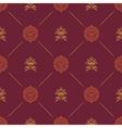 Wallpaper in royal baroque style vector image