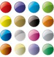 candy button vector image vector image