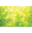 green bokeh background vector image vector image