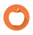 apple symbol vector image vector image