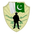 Army of Pakistan vector image vector image