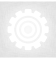 Symbol on textured paper vector image vector image