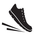 Running shoes icon2 vector image
